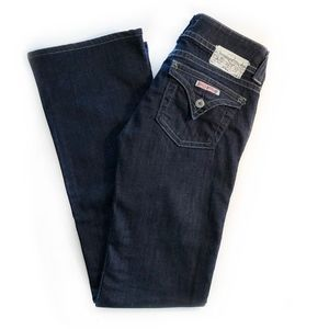 HUDSON | Bootcut Flap Pocket Dark Blue Rinse Jeans